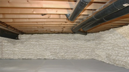 Crawl Space Insulation Chesterfield