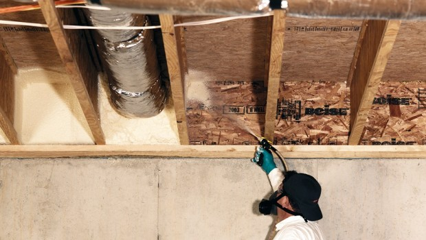 Rim Joist Air Sealing in Saint Louis