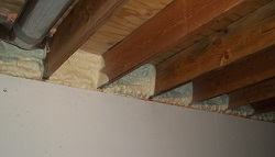 Rim Joist Air Sealing